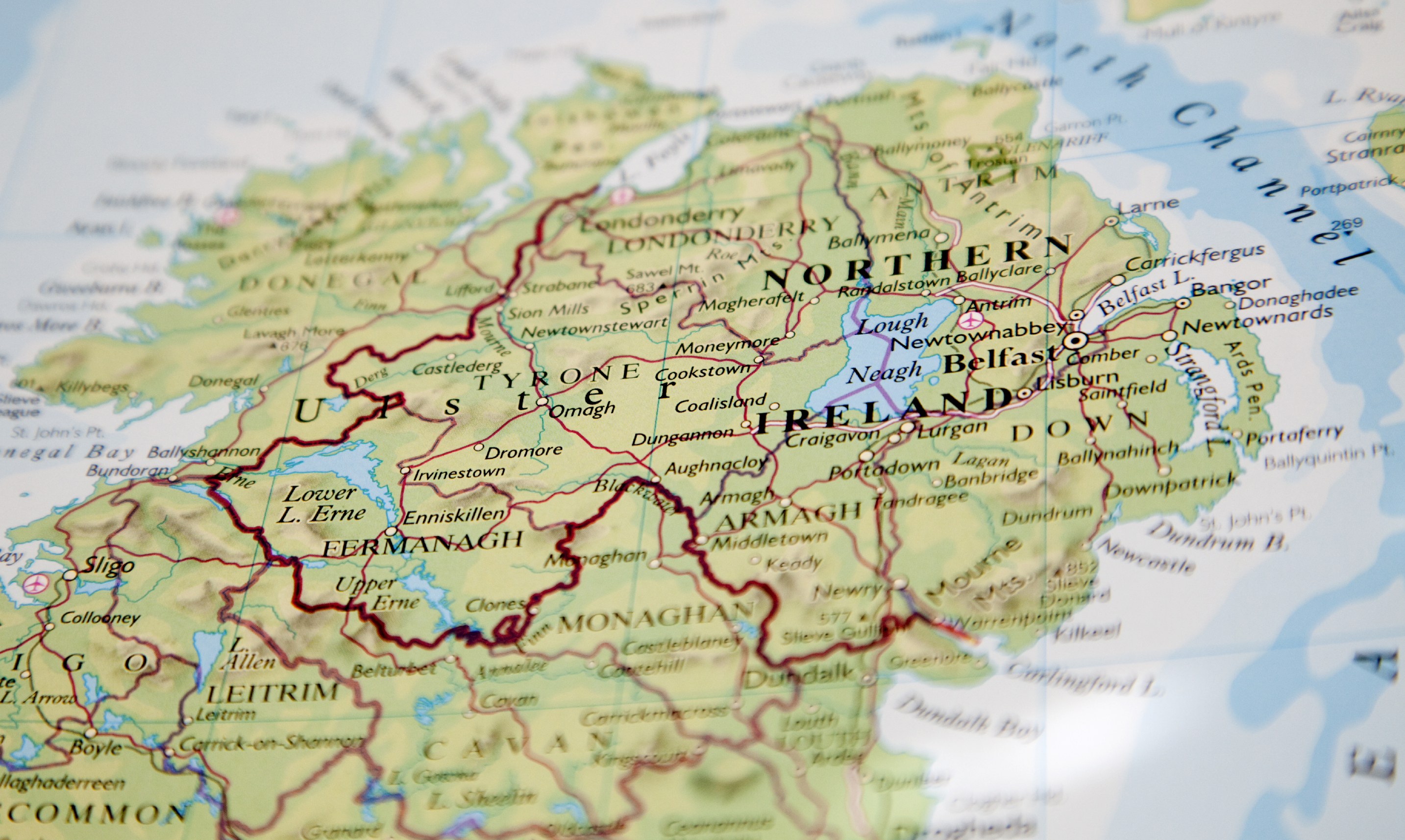 Monitoring Poverty And Social Exclusion In Northern Ireland JRF - Northern ireland map