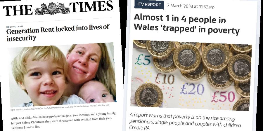 Media headlines that help people understand poverty