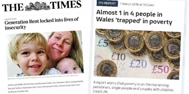 Media headlines that help people understand poverty