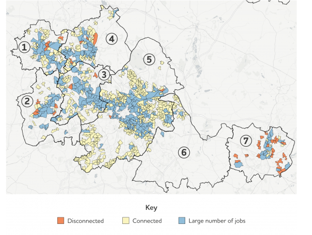 Labour market disconnection among deprived neighbourhoods in the West Midlands