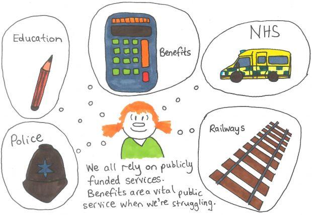 Benefits are a vital public service when we're struggling
