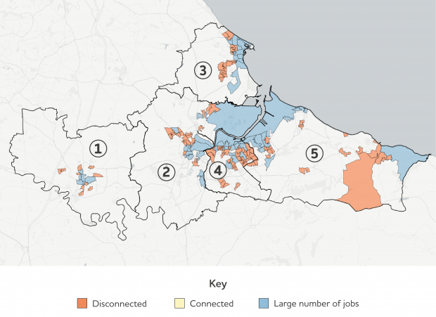 Labour Market Disconnection Among Deprived Neighbourhoods in Tees Valley