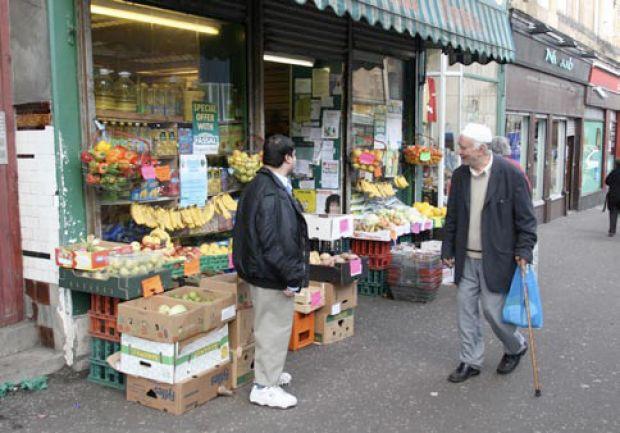 A shop in the heart of East Pollokshields, Glasgow