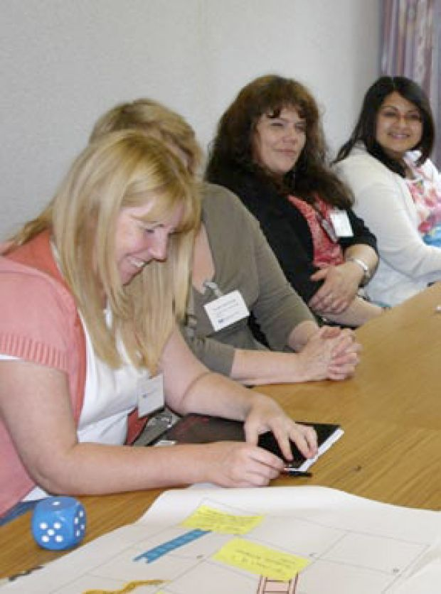 Delegates enjoy a workshop at one of the Neighbourhood Programme's national networking events