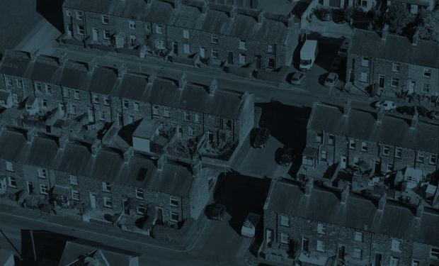 Arial of streets