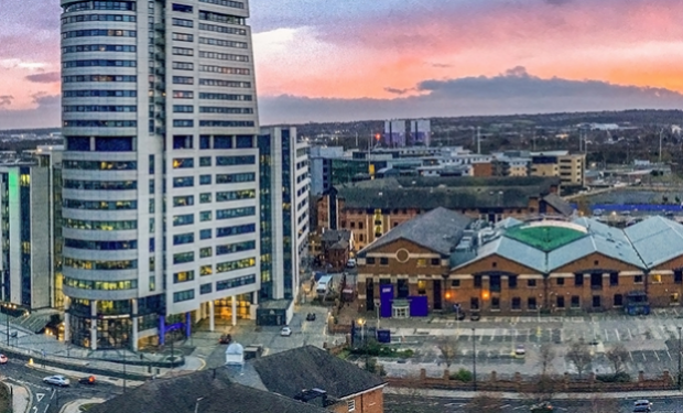 Leeds sunset