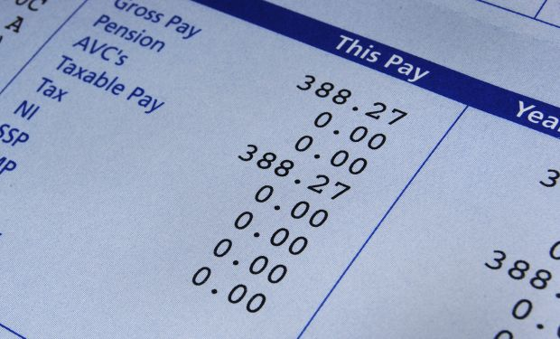 Payslip tax