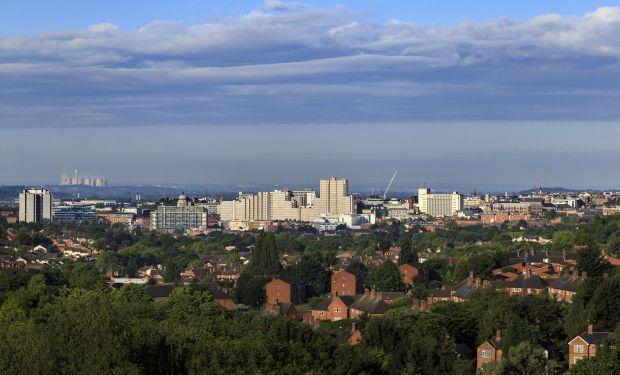 Nottingham skyline