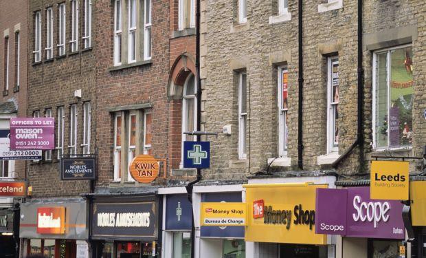 High street shops Durham