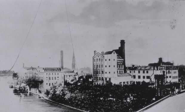 Rowntree Company Tanners Moat Factory