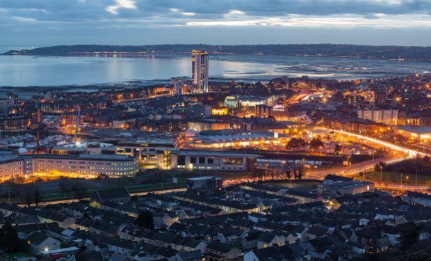 Swansea skyline
