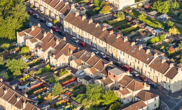 Houses in neighbourhood