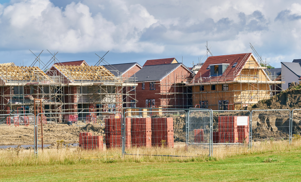 New homes being built