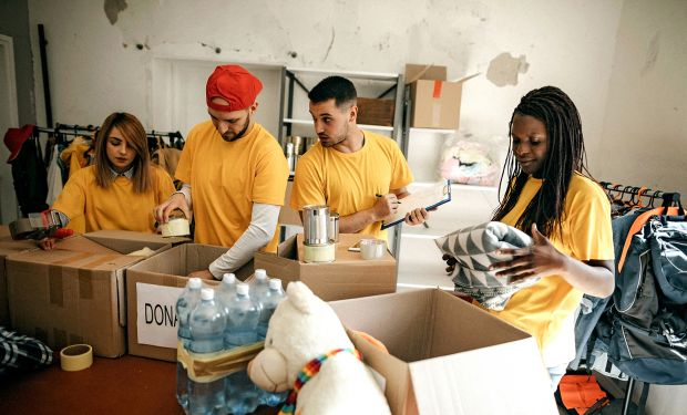 Volunteer workers