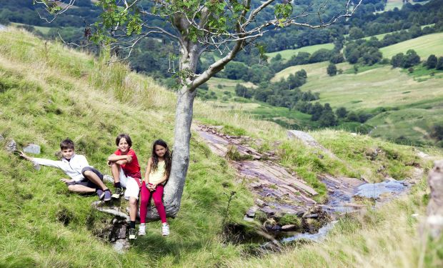 Children in countryside