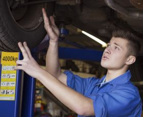Apprentice mechanics