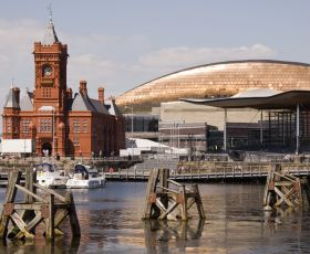 Welsh Senedd and Pierhead