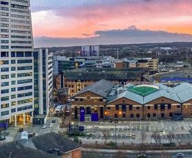 Leeds sunset