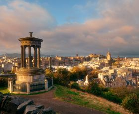 Picture of Edinburgh skyline