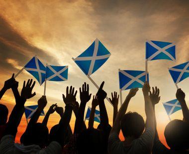Scottish flags