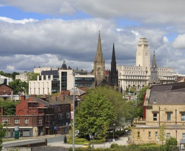 Leeds city view
