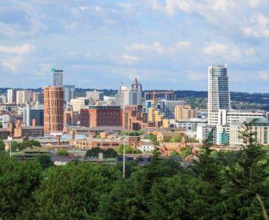 Leeds city scene