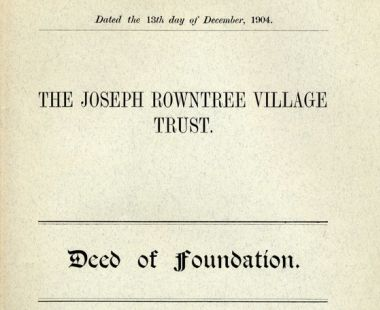 Deed of foundation