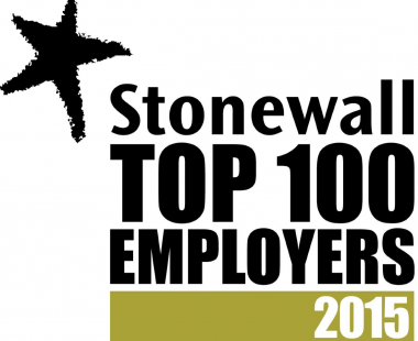 Stonewall top 100 employer