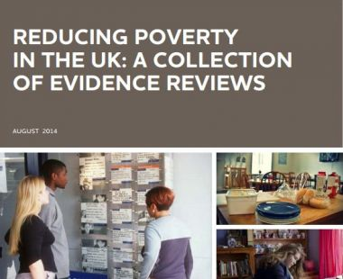 Reducing poverty in the UK cover