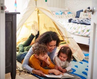 Single-parent with children
