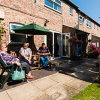 Social scene in Clementhorpe Court